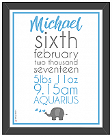 Baby Boy Print - Design Two-Personalised prints, Baby Boy, birth announcement, personalised baby gift personalised baby girl gift, baby gifts, newborn baby boy gifts, baby boy gift, newborn baby, personalised baby gift, customised baby boy gift, personalised baby boy present, framed baby boy print, framed personalised gift.