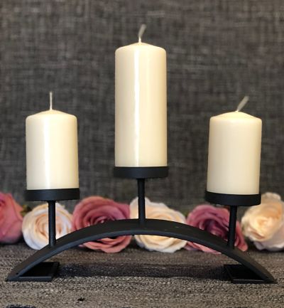 Candles With Candle Stand - Design One-