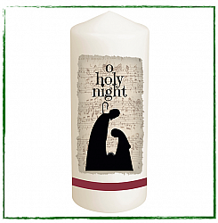 O Holy Night Christmas Candle-