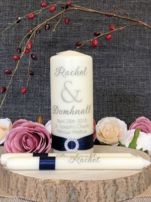 Contemporary Classic-Contemporary Classic Wedding Unity Set, wedding ceremony, civil ceremony, unity candles, wedding, bride and groom, lighting ceremony
