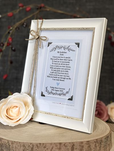 Godparent Framed Print-