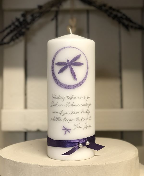Healing takes courage....-Healing takes courage, friendship candles, supportive, support