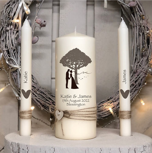 Kissing Bride & Groom-Rustic Bride  Groom, wedding tree, bride, groom