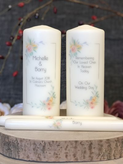 NF Soft Floral Border Unity & Remembrance Set-