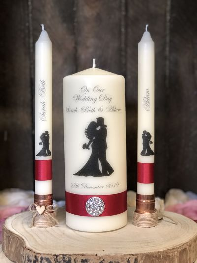 'Rachael & Aidan' Bride & Groom Unity Set-