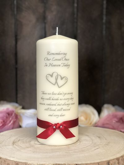 Simplicity Remembrance Candle-