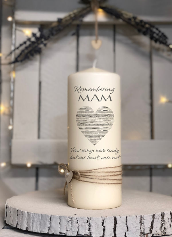 Remembering with Love...Remembrance Candle-Remembrance, memorial candles